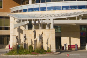 Statues, American Family Children's Hospital, University of Wisconsin, School of Medicine and Public Health, UW-Madison, University of Wisconsin, Architecture, West Campus