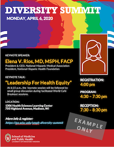 Image of SMPH Diversity Flier template #2