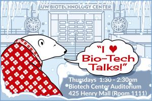 polar bear, bio-tech talks, uw-madison. S.V. Medaris for Media Solutions